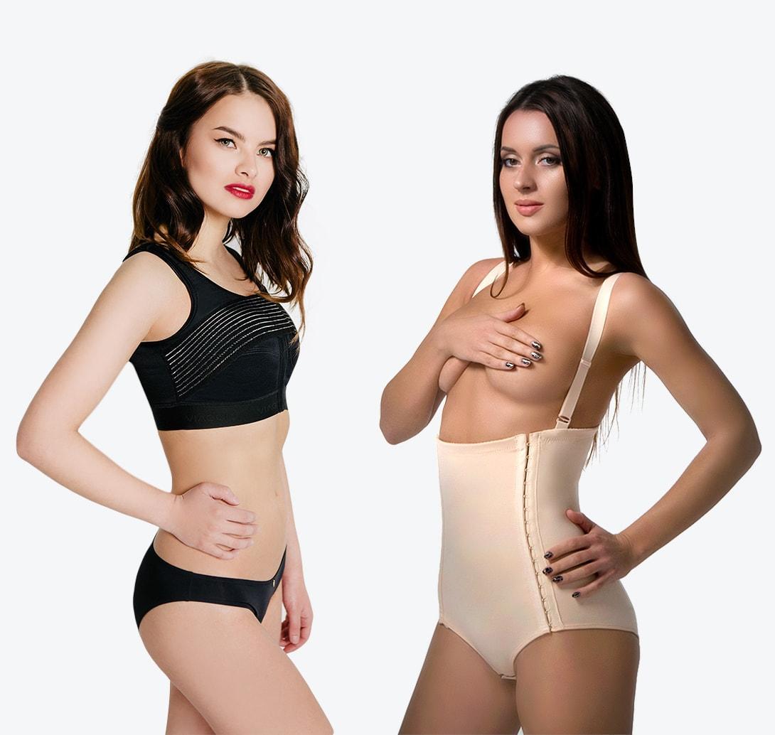 Женское компрессионное белье бесшовное нижнее белье женское intimidea